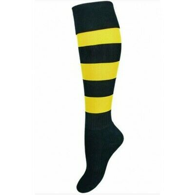 Richmond Tigers Official AFL On Field Footy Socks Kids