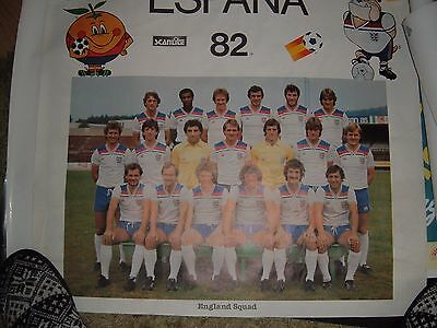 England Poster From 1982