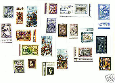 Discworld Stamp. Assortment Of Discworld Stamps