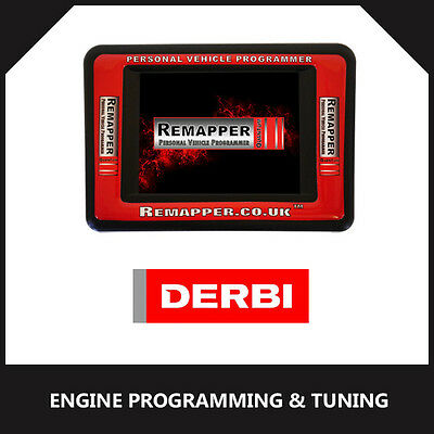 Derbi - ECU Remapping | Engine/Chip Tuning | ECU Programming Tool