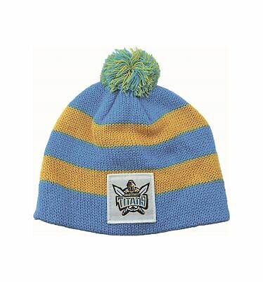 Gold Coast Titans Official NRL ChunkyKnit Baby Infant Beanie