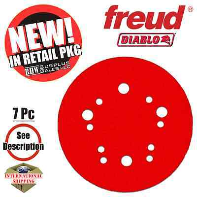 Diablo DCD050VGPH07G 5 in. General Purpose Sanding Disc Project Pack (7 Pieces)