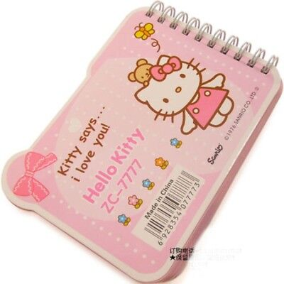 girls or lady Hello Kitty Note Book 100 pages Plus 5 Princess Erasers