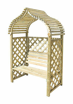 Indian Style Arbour Garden Seat
