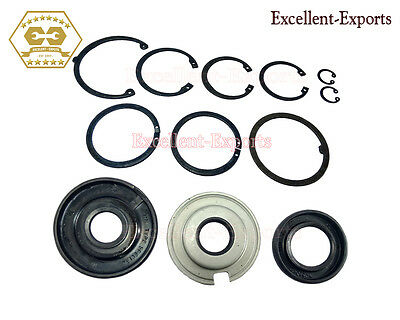Vespa VBB VLB Engine Oil Seal Kit and Circlips Brand New V2467