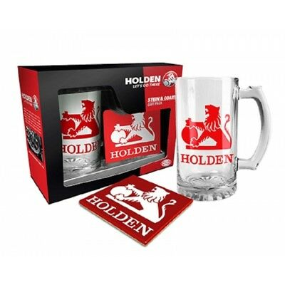 Holden Stein and Coaster Gift Pack, Heritage Design, Gift Boxed