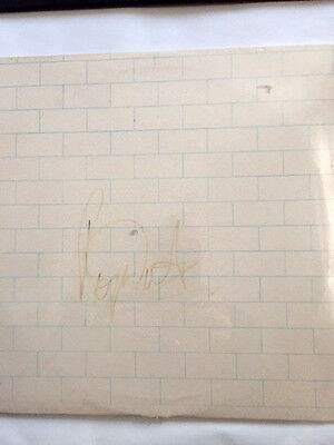 Pink Floyd Rare The Wall Signed By Roger Waters