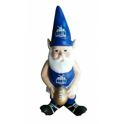 North Melbourne Kangaroos Official AFL Garden Gnome with Gold Football