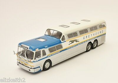 HC04 Ex mag 1/43 Scale Bus Greyhound Scenicruiser Express USA 1956