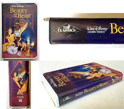 ORIGINAL 1992 WALT DISNEY Black Diamond Classics BEAUTY & THE BEAST VHS RARE $$$