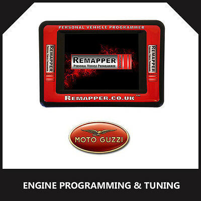 Moto Guzzi - ECU Remapping | Engine/Chip Tuning | ECU Programming Tool