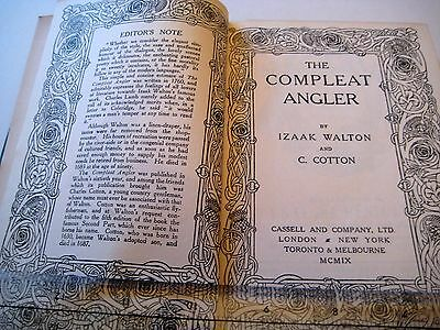 The Compleat Angler by Walton Izaak. The Peoples Library.