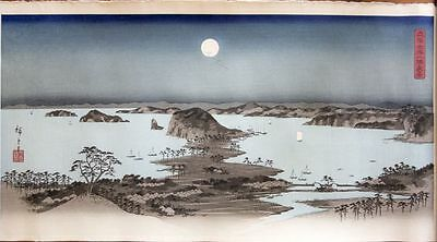 Panorama of the Eight Views of Kanazawa under a Full Moon 1930`s R.O.M. Coll.
