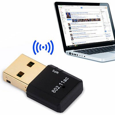 !600Mbps Double Frequency USB 2.0 Wifi 802.11ac/a/n/g/b Ethernet Network Card&#
