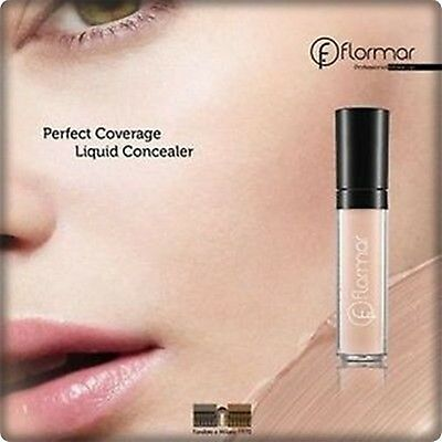 Flormar Perfect Coverage Liquid Concealer Minimises Dark Circles & Puffiness