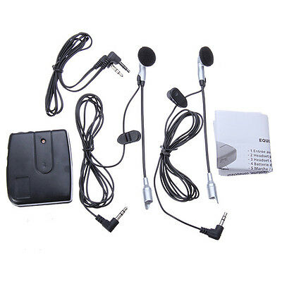 !Motorcycle Helmet Interphone Walkie Talkie Communication Intercom Headphone&#