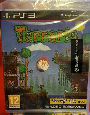 TERRARIA - PLAYSTATION 3 PS3 BRAND NEW sealed