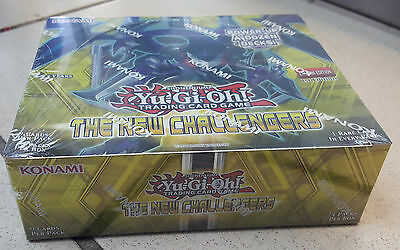Yugioh New Challengers Booster Box FACTORY SEALED