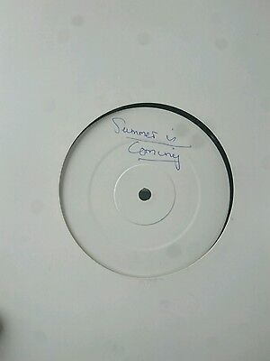 "Summer Is Coming (white label) 12"" vinyl TRANCE"