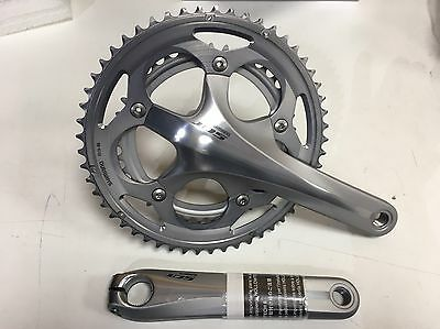 Shimano 105 FC-5700 10 Speed Double Chainset 53/39 Silver 172.5mm