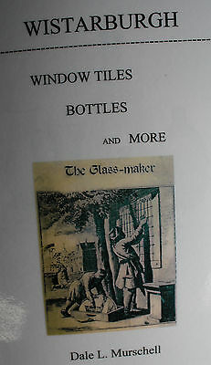 BOOK South Jersey glass Wistarburg 18th century Wistar pontil antique blown