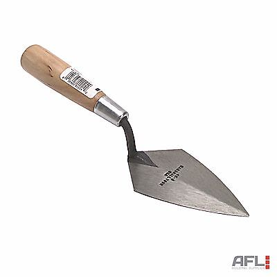 Marshalltown 456 Philadelphia Pattern Forged Pointing Trowel Wooden Handle 6""