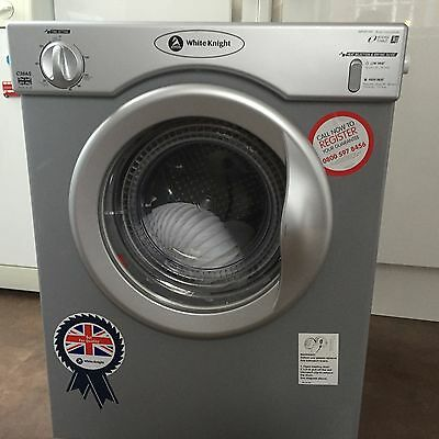 White Knight 3kg Silver Tumble Dryer - 5 Months Old!