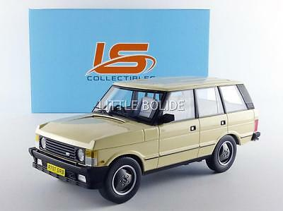 LS COLLECTIBLES 1/18 LAND ROVER Range Rover - Serie 1 - 1986 LS001SP