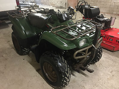 KAWASAKI KVF 360 4x4 FARM QUAD BIKE ATV - SMALLHOLDING NO VAT - SPARES- REPAIRS