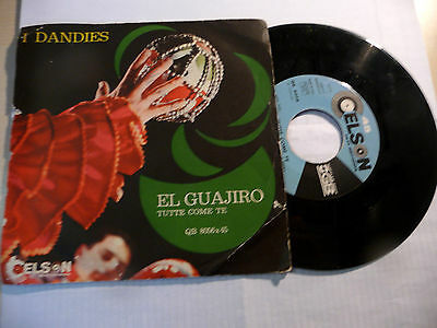 "I DANDIES"" TUTTE COME TE-disco 45 giri CELSON Italy 1967"" BEAT italy"