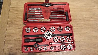 SNAP ON, 41pc Metric Tap and Die Set-TDM-117A (6-BITS MISSING)