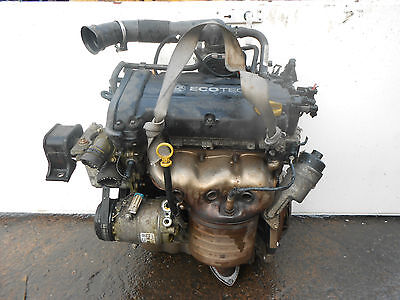 Vauxhall Corsa C D Astra H Meriva A 1.4 Twinport Complete Engine Z14Xep