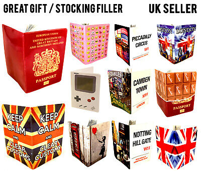 Iconic London Passport Cover Uk Us European Holder Protector Wallet Case Lot