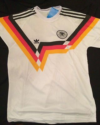 West Germany 1988 1990 retro jersey Large New with tags