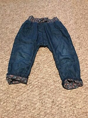 baby girl jeans 12-18 months next