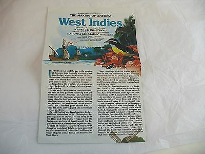 National Geographic The Making Of Americas West Indies Map