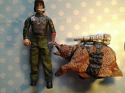 Hasbro Action man mission Grizzly, rare