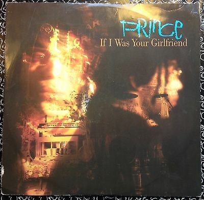 """Prince • If I Was Your Girlfriend. 12"""" Vinyl single Europe 1987"""
