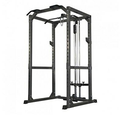 Bodymax Power Rack Olympic Weights Bench