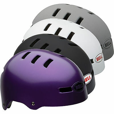 Bell Faction BMX, Cycle, Skate, Scooter Helmet Purple Large