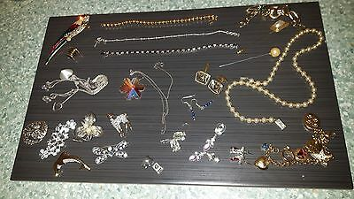 Silver & Costume Vintage jewellery OVER 25 pieces
