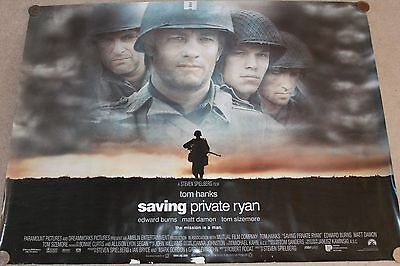 Saving Private Ryan - original quad poster