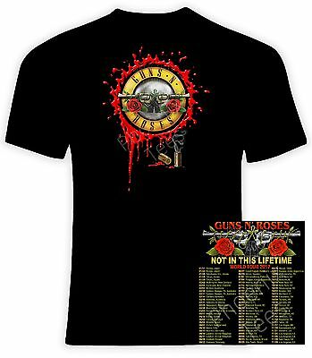 Guns N' Roses 2017 Not In This Lifetime Concert T-Shirt