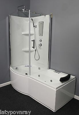 Shower Cabin with Whirlpool Tub. 6 Year Warranty.NEW MODEl 2016.