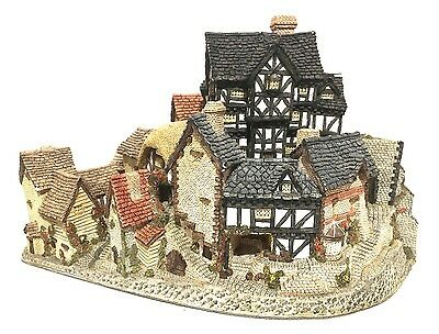 David Winter Cottages THE VILLAGE  By John Hine 1981