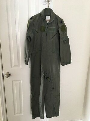 US Military Coveralls, Flyers, Men's, Summer, Fire Resistant, Sage Green -  40S