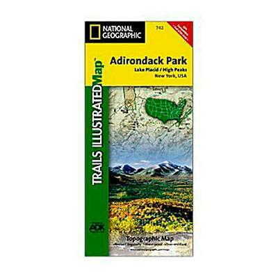 National Geographic 742 Adirondack Park Lake Placid and High Peaks New York