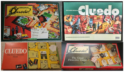 CLUEDO BOARD GAME SPARES * Choices of pieces and versions