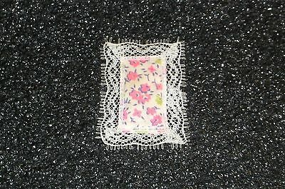 Vintage Mattel Kiddle Htf Baby Liddle Floral Pillow Only In Very Good Condition