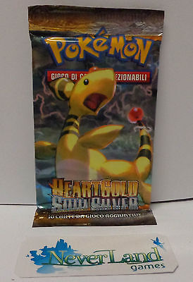 Pokemon Game Booster Sealed New Bustina Busta ITALIANO - HS HEARTGOLD SOULSILVER